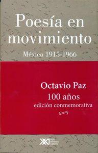 POESÍA EN MOVIMIENTO, MÉXICO 1915-1966: portada