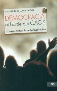 DEMOCRACIA AL BORDE DEL CAOS: portada