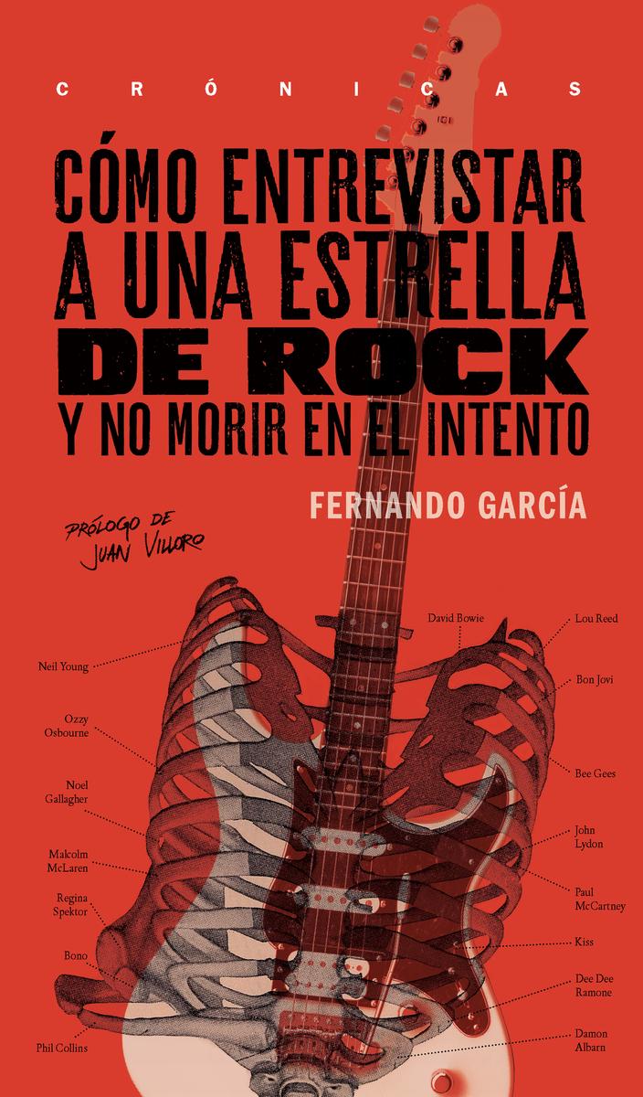 Cómo entrevistar a una estrella de rock: portada