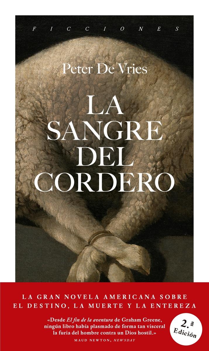 La sangre del cordero (2ª edición): portada