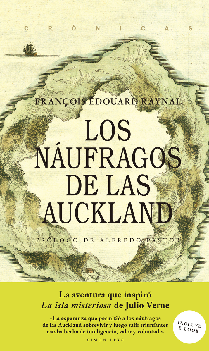 Los náufragos de las Auckland: portada