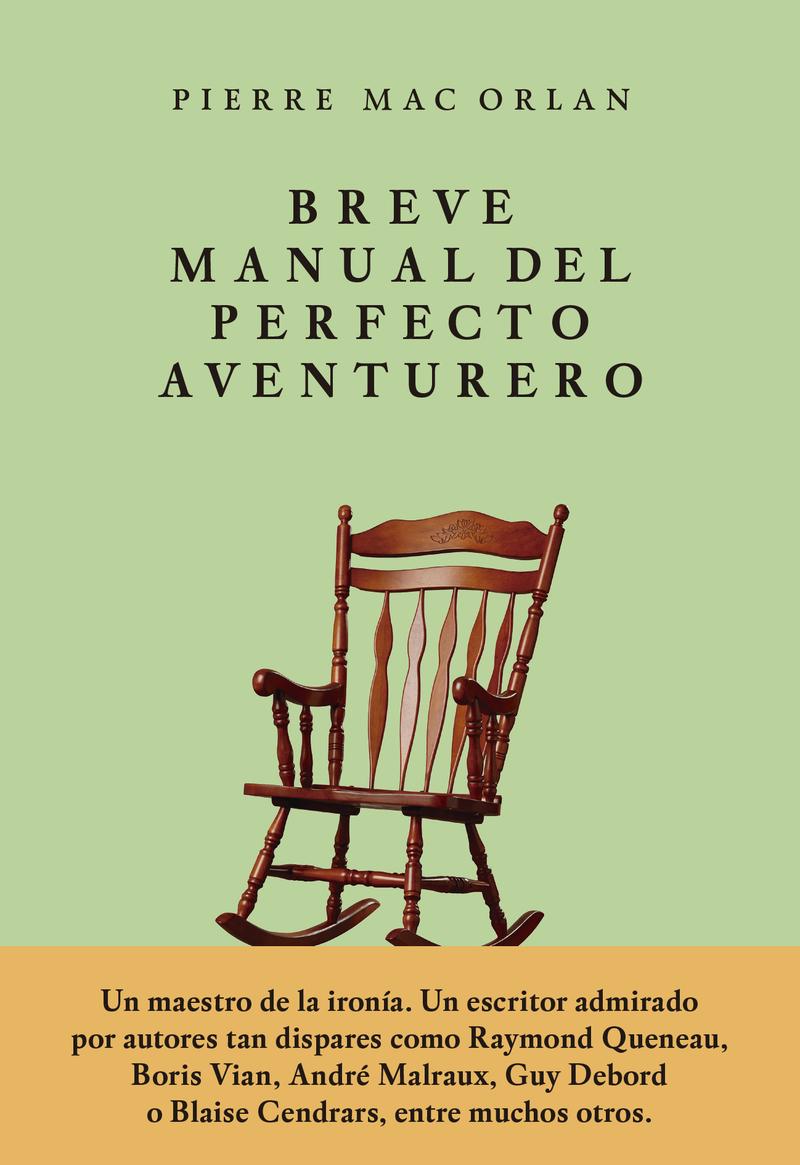 Breve manual del perfecto aventurero: portada