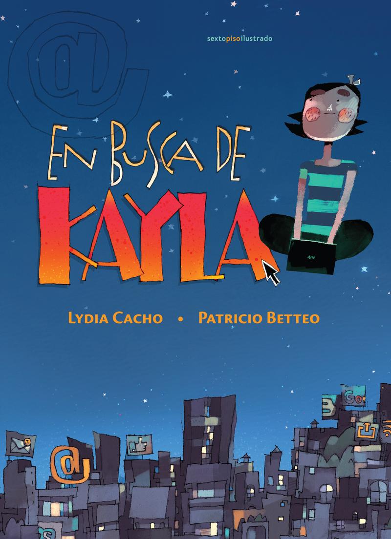 En busca de Kayla: portada