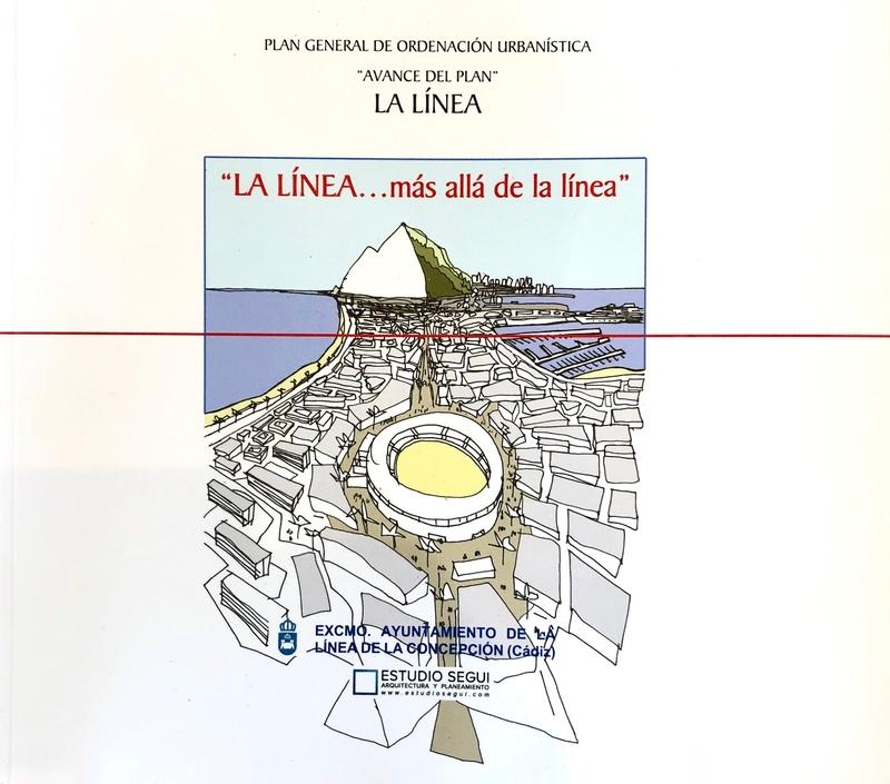 LA LINEA MAS ALLA DE LA LINEA: portada
