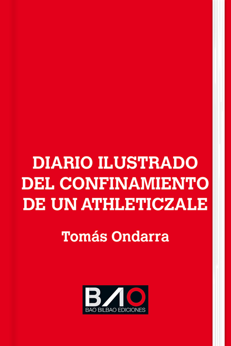Diario ilustrado del confinamiento de un athleticzale: portada