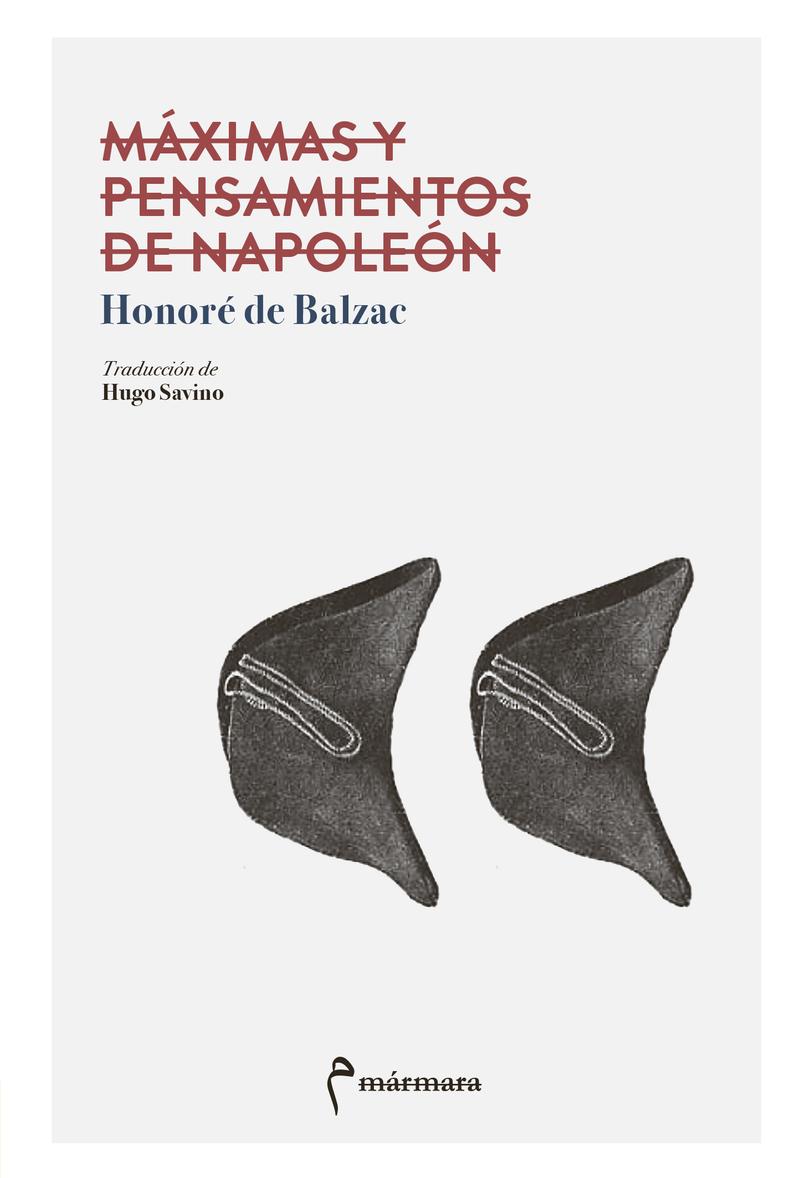Máximas y pensamientos de Napoleón: portada