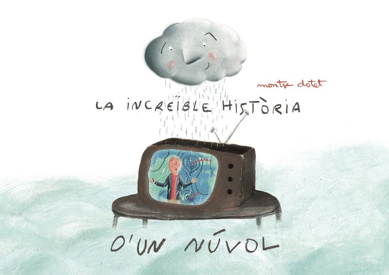 La increïble història d'un núvol: portada
