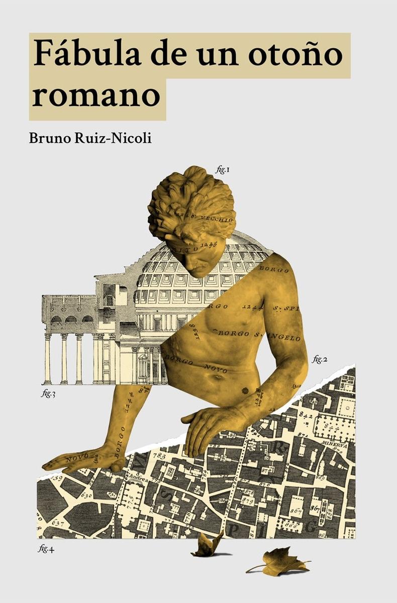 Fábula de un otoño romano: portada