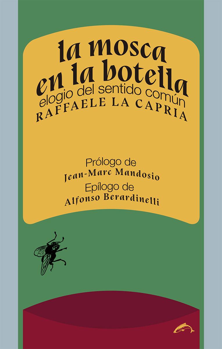 La mosca en la botella: portada