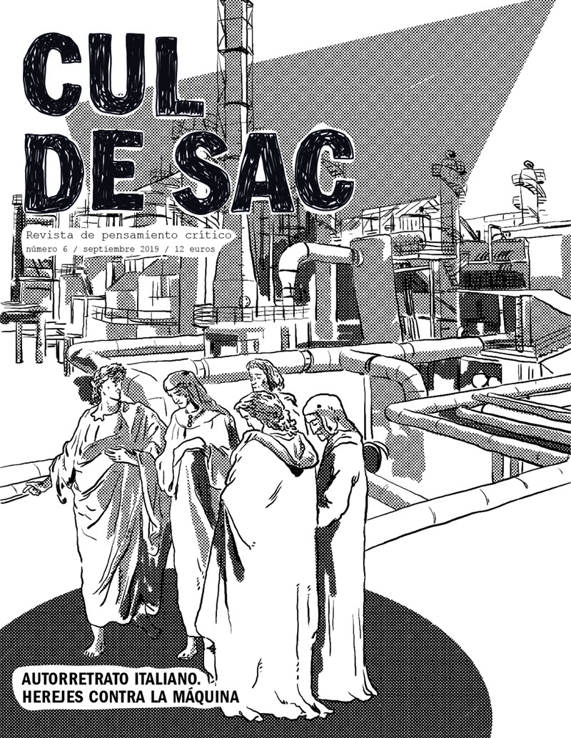 Cul de Sac nº6. Revista de pensamiento crítico.: portada