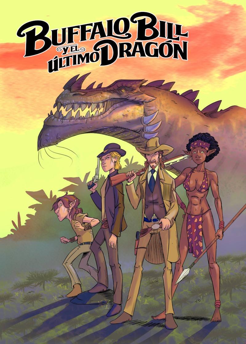 Bufallo Bill y el Último Dragón: portada