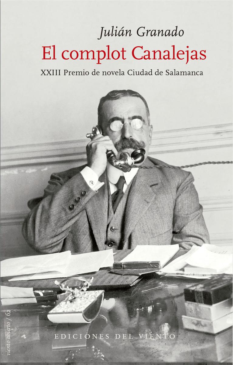 El complot Canalejas: portada