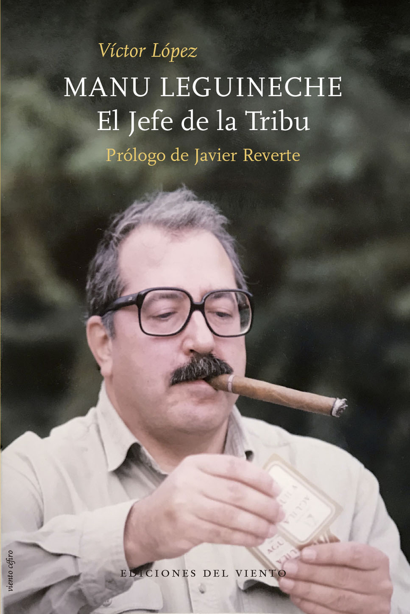 Manu Leguineche.El Jefe de la Tribu: portada