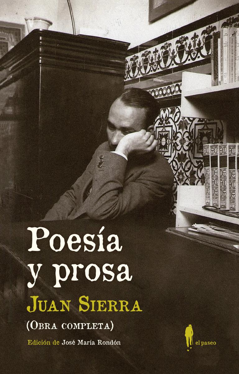 Poesía y prosa (Obra completa): portada