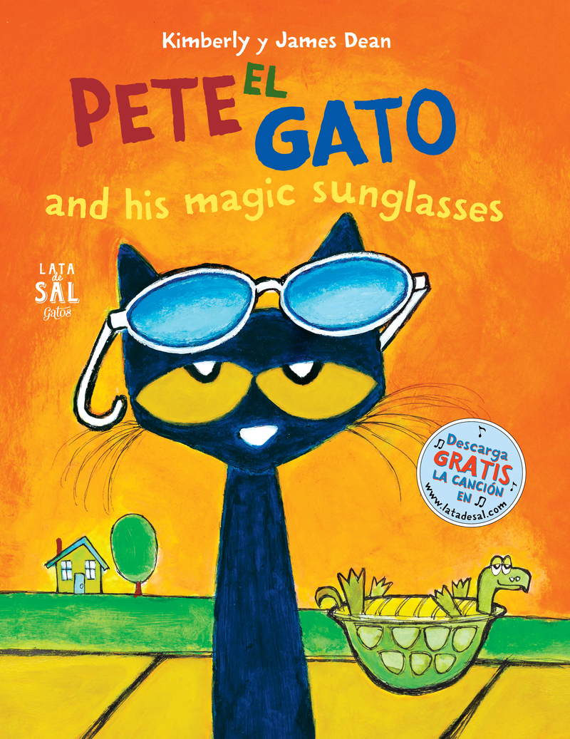PETE EL GATO AND HIS MAGIC SUNGLASSES: portada