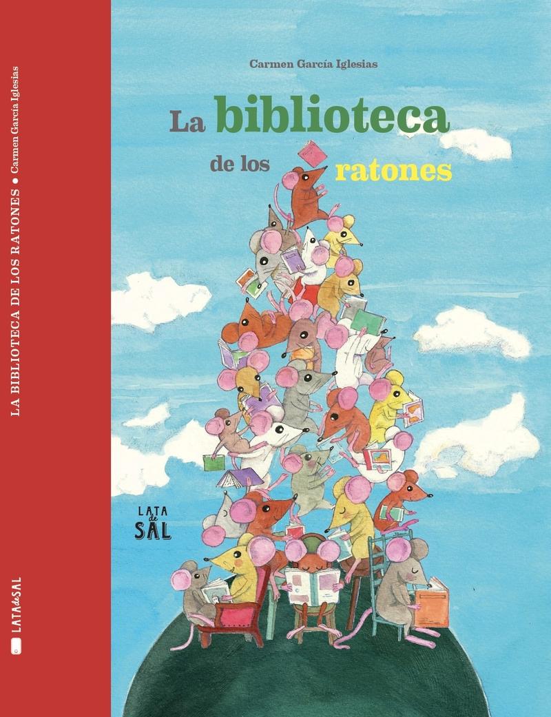 LA BIBLIOTECA DE LOS RATONES: portada