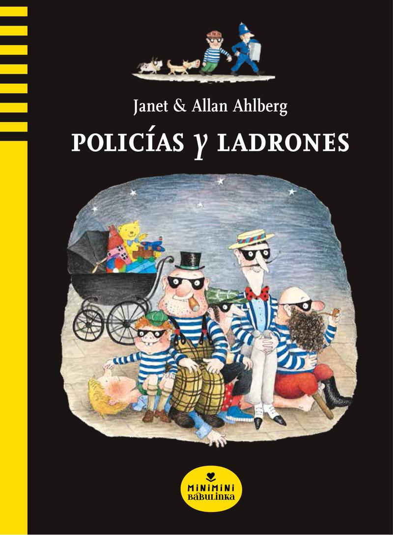 POLICÍAS Y LADRONES: portada