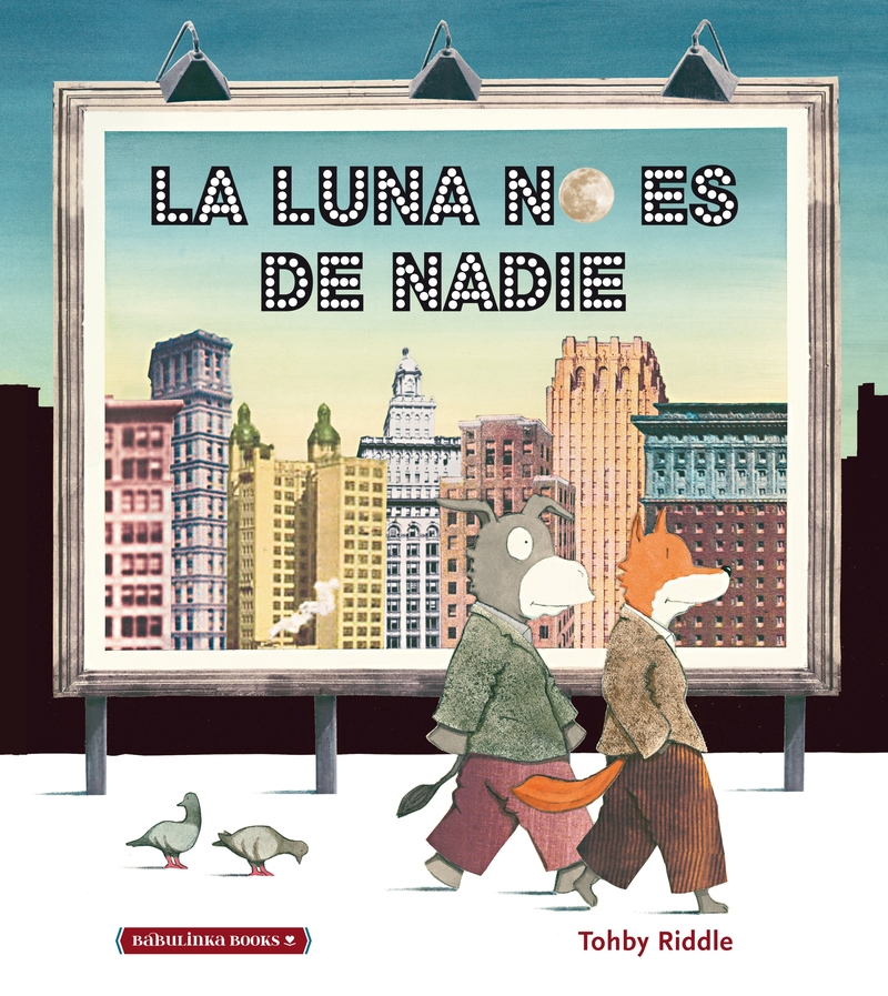 LA LUNA NO ES DE NADIE: portada