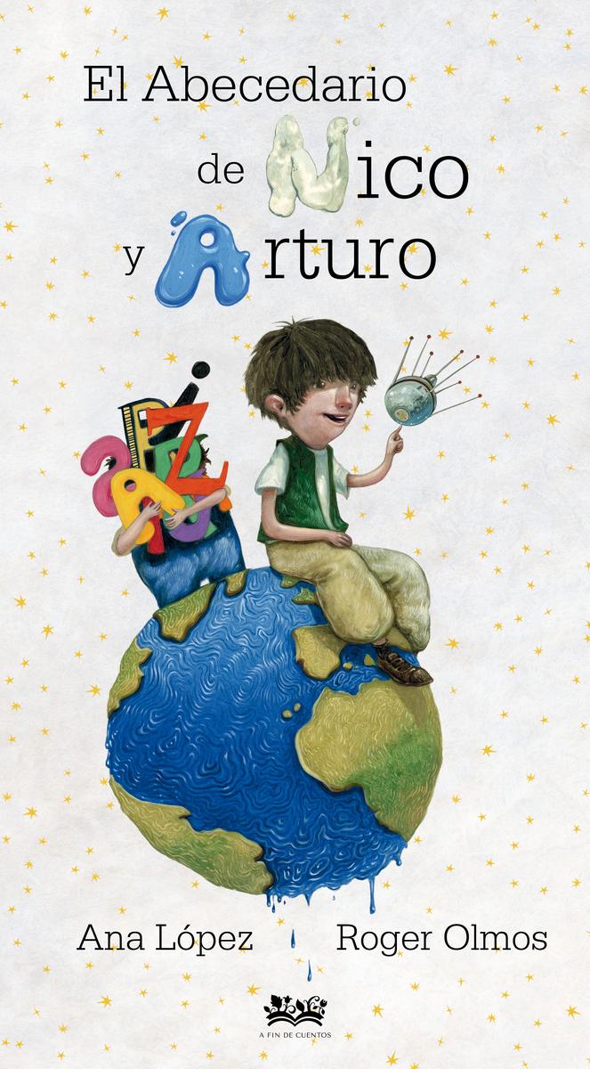 El abecedario de Nico y Arturo: portada