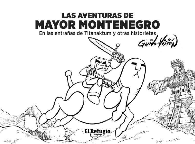 Las aventuras de Mayor Montenegro: portada