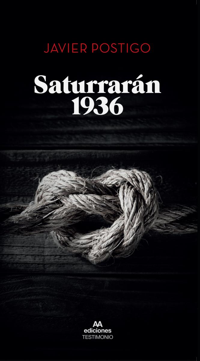 Saturrarán 1936: portada
