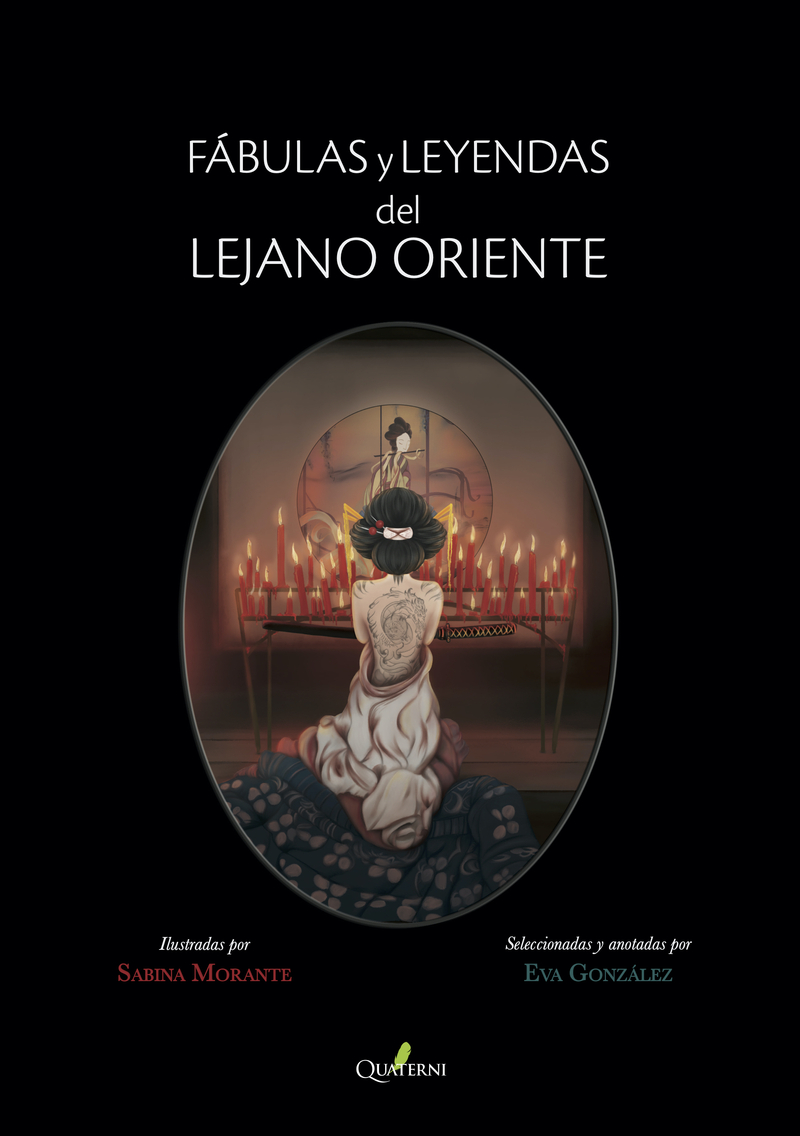 FÁBULAS Y LEYENDAS DEL LEJANO ORIENTE: portada