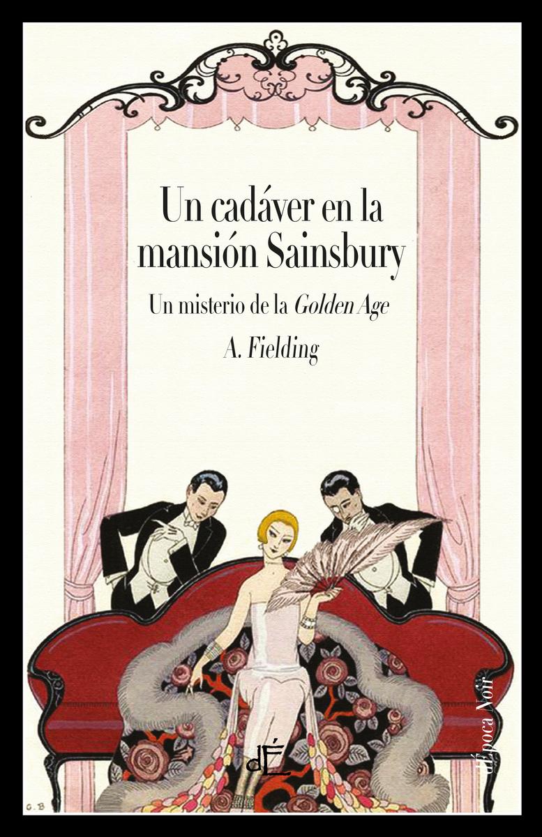 Un cadáver en la mansión Sainsbury (Edición Ilustrada): portada