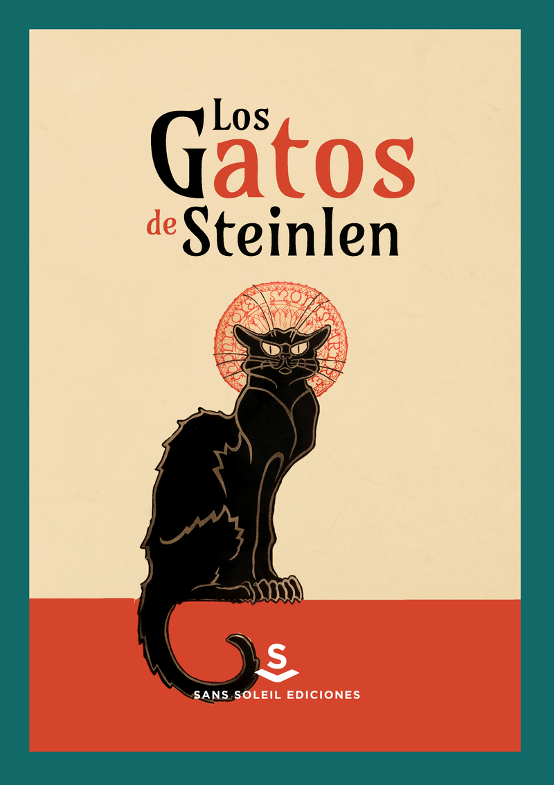 Los gatos de Steinlen: portada