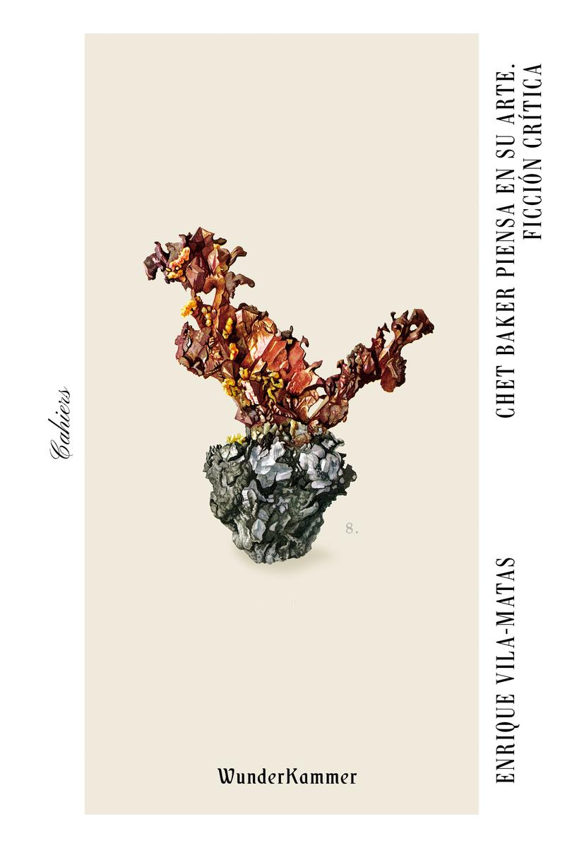 Chet Baker piensa en su arte. Ficción crítica: portada