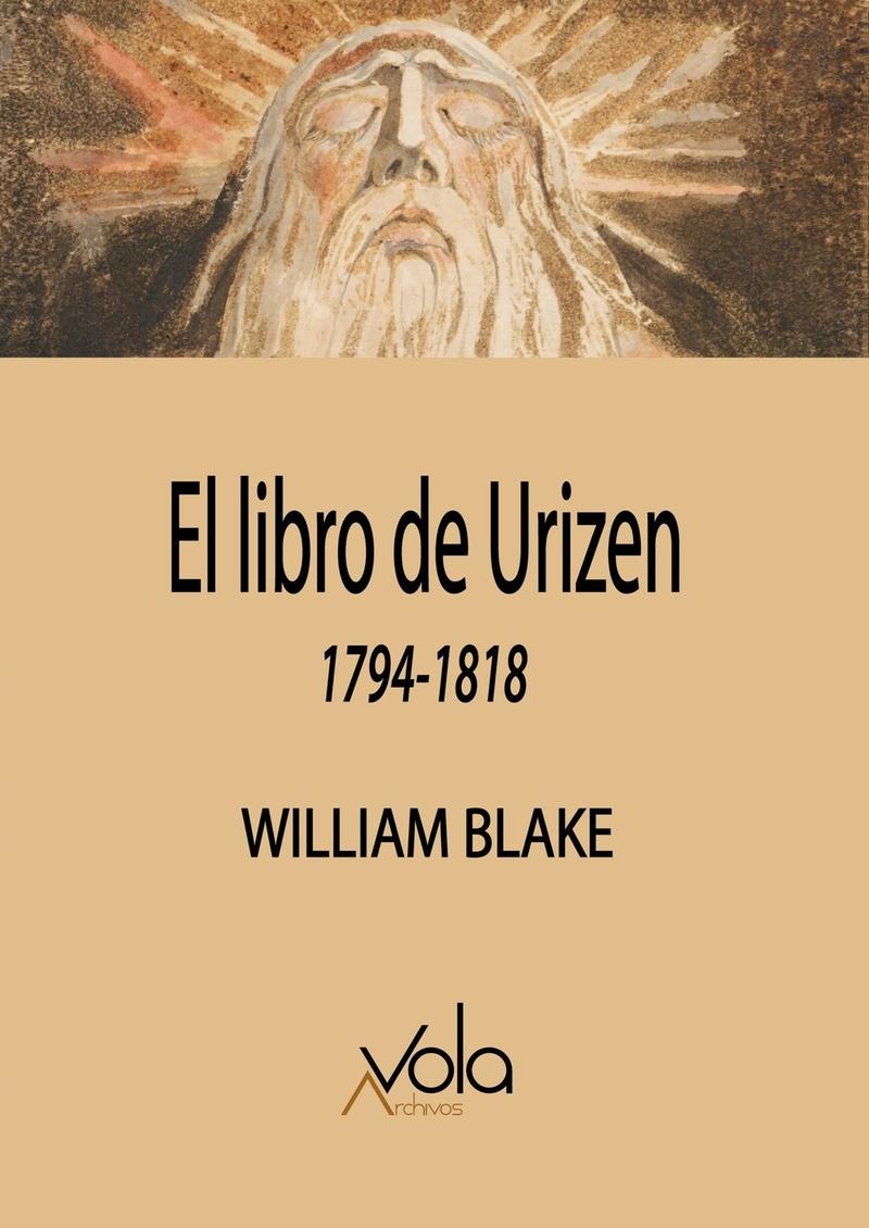 El libro de Urizen: portada