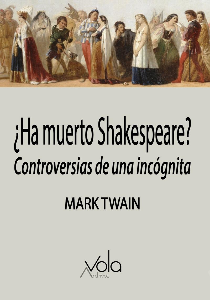 ¿Ha muerto Shakespeare?: portada