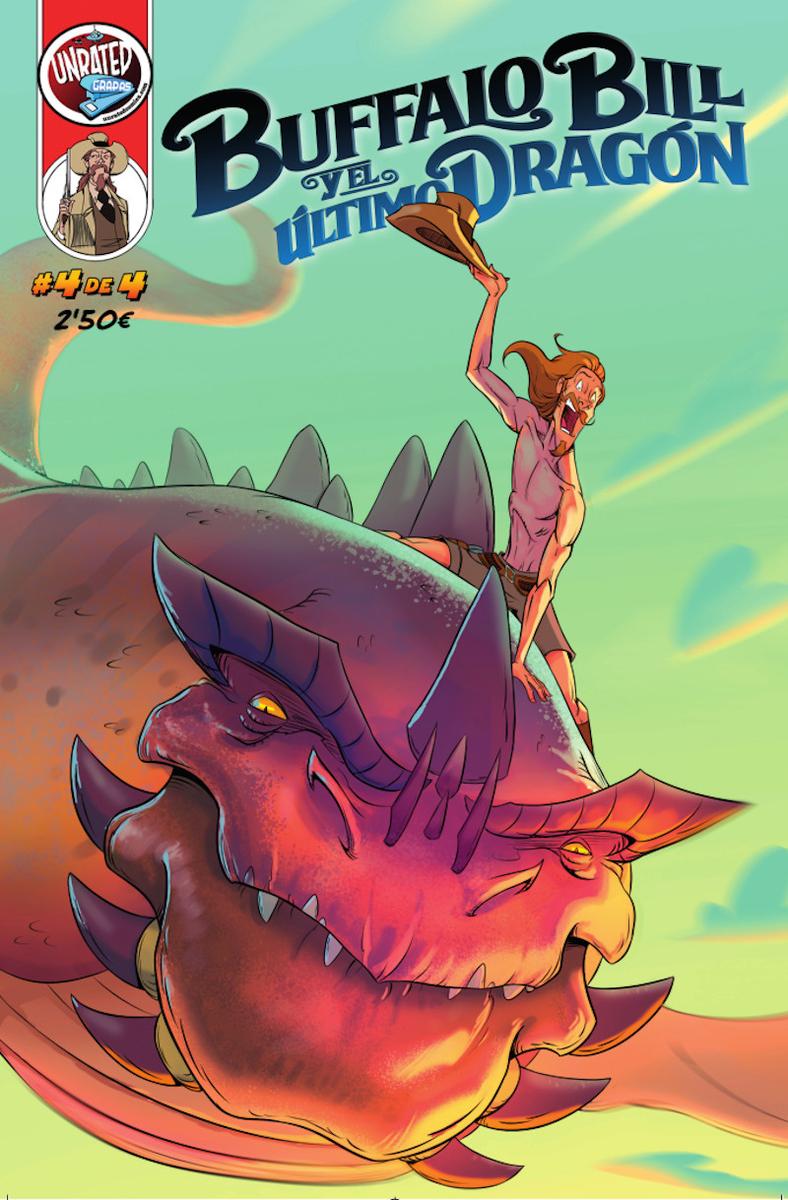 Buffalo Bill y el Último Dragón #4: portada