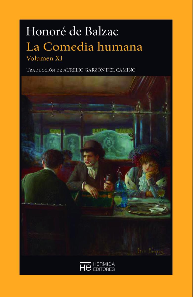 La Comedia humana. Volumen XI: portada