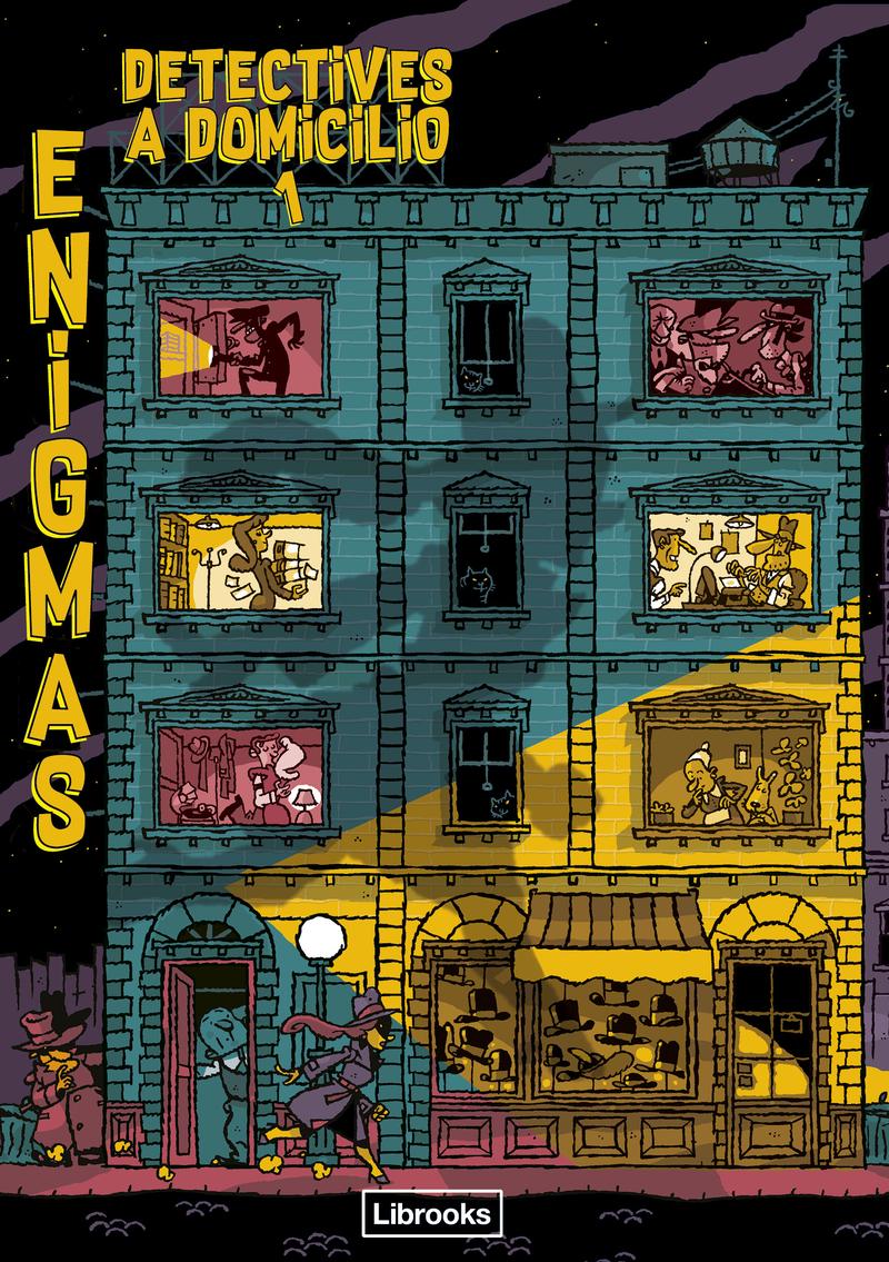 ENIGMAS. Detectives a domicilio 1: portada