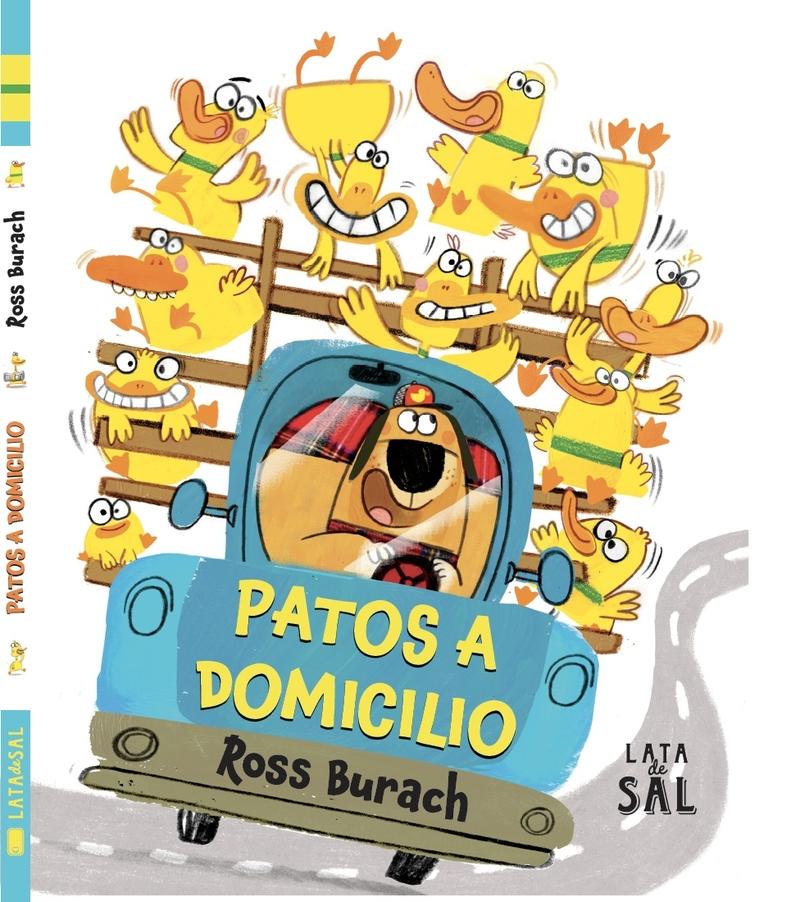 PATOS A DOMICILIO: portada