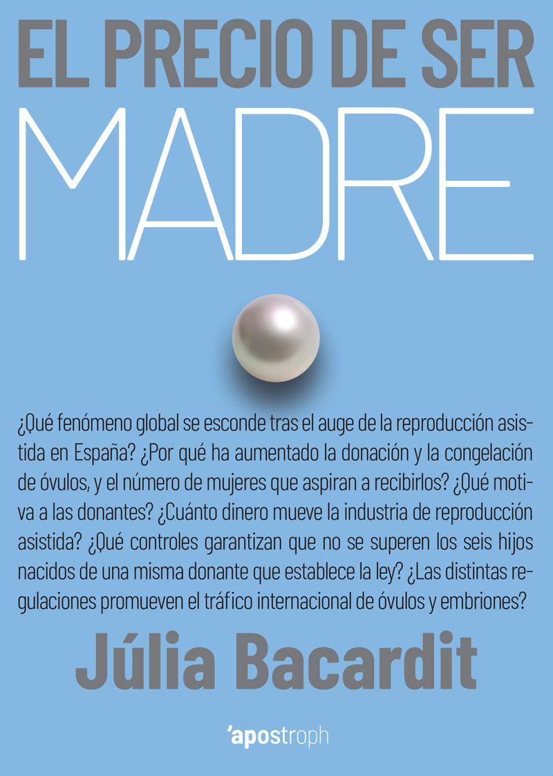 EL PRECIO DE SER MADRE: portada