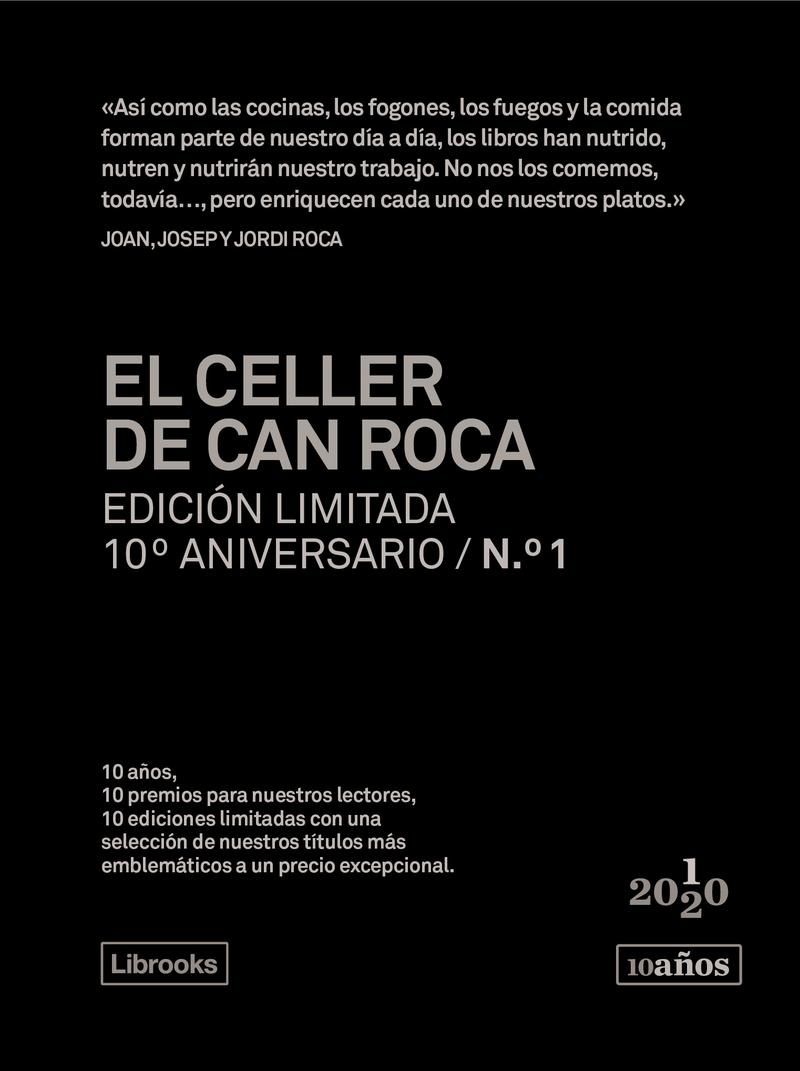EL CELLER DE CAN ROCA. Edición limitada 10º Aniversario nº1: portada