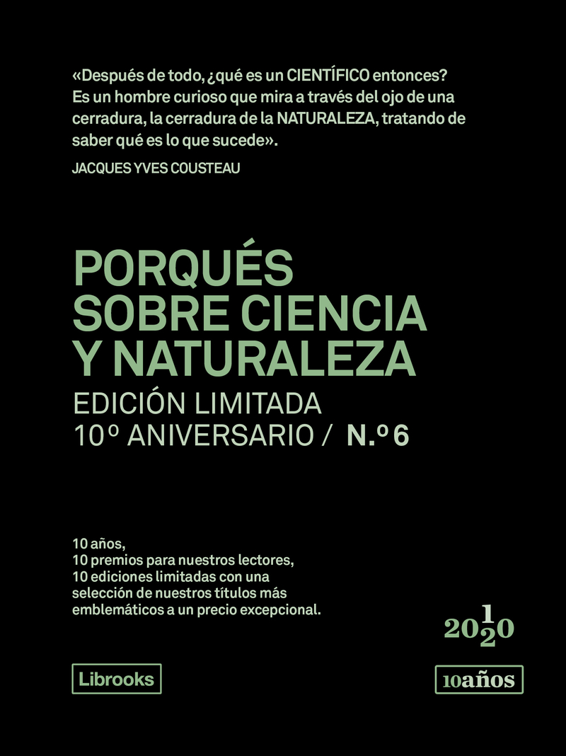 PORQUÉS SOBRE CIENCIA Y NATURALEZA. Ed. limitada 10ºaniv nº6: portada