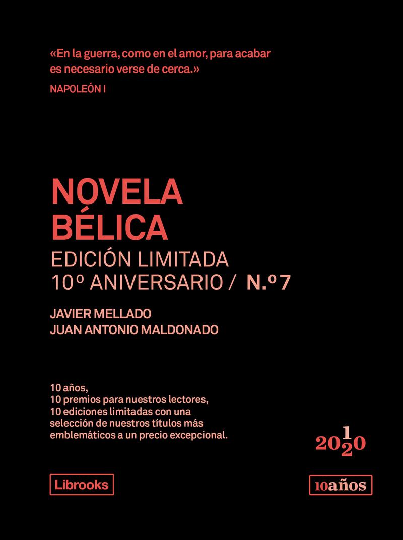 NOVELA BÉLICA. Edición limitada 10º Aniversario n° 7: portada