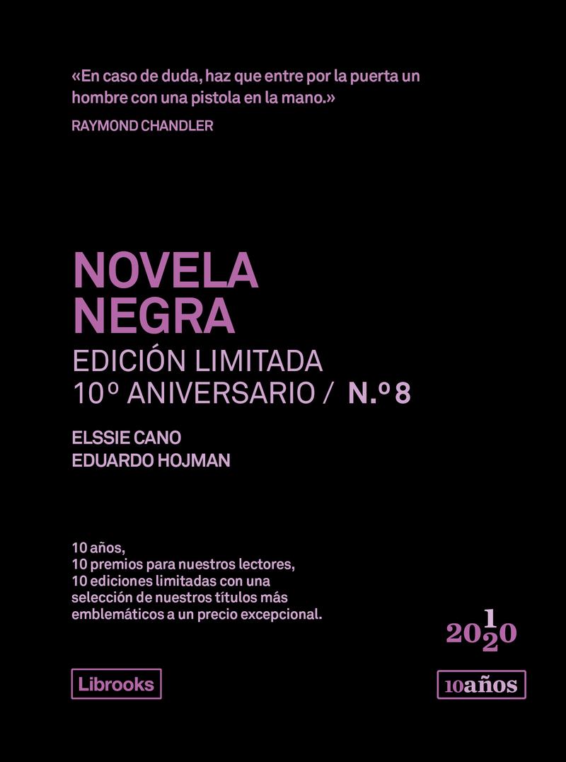 NOVELA NEGRA. Edición limitada 10º Aniversario n° 8: portada