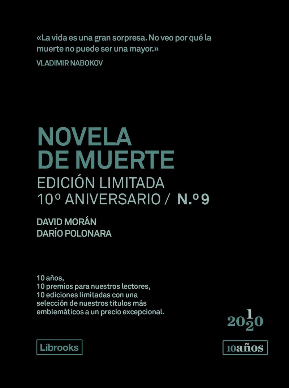 NOVELA DE MUERTE. Edición limitada 10º Aniversario nº 9: portada
