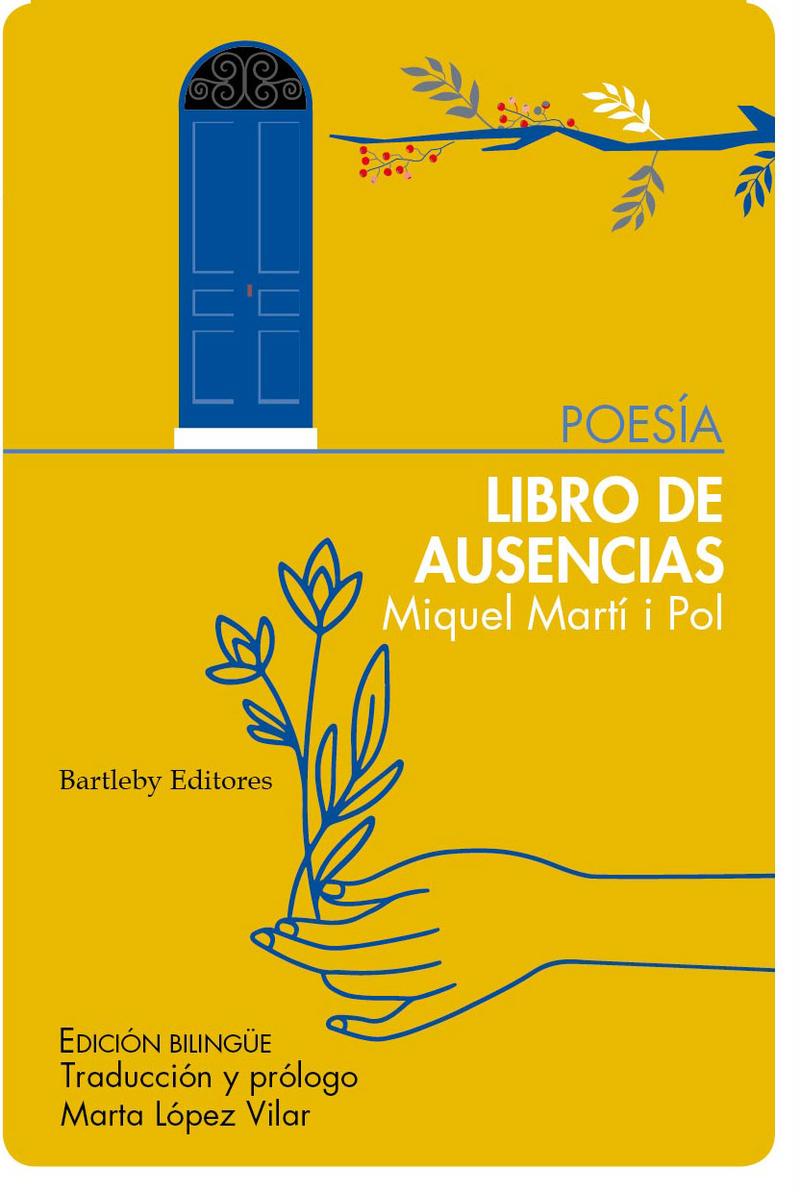 Libro de ausencias / Llibre d'absències: portada