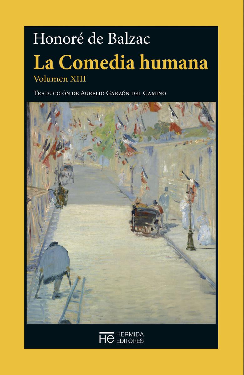 La Comedia humana. Volumen XIII: portada