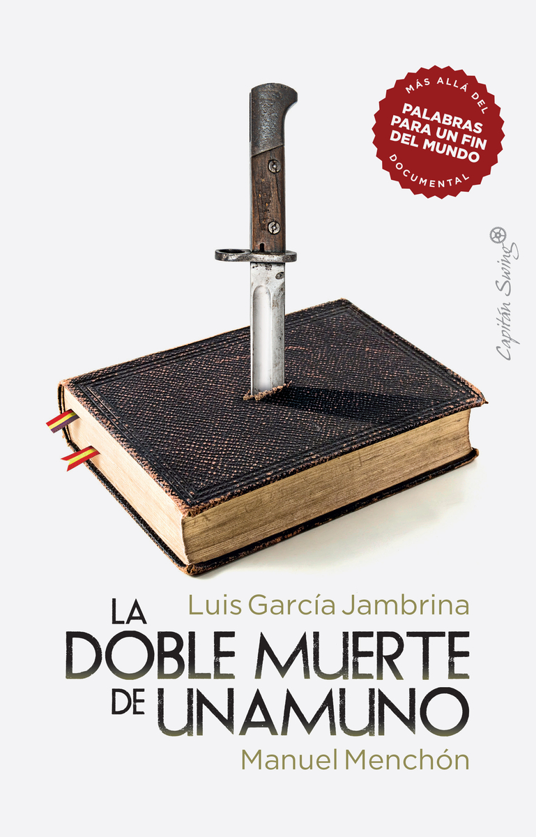La doble muerte de Unamuno: portada