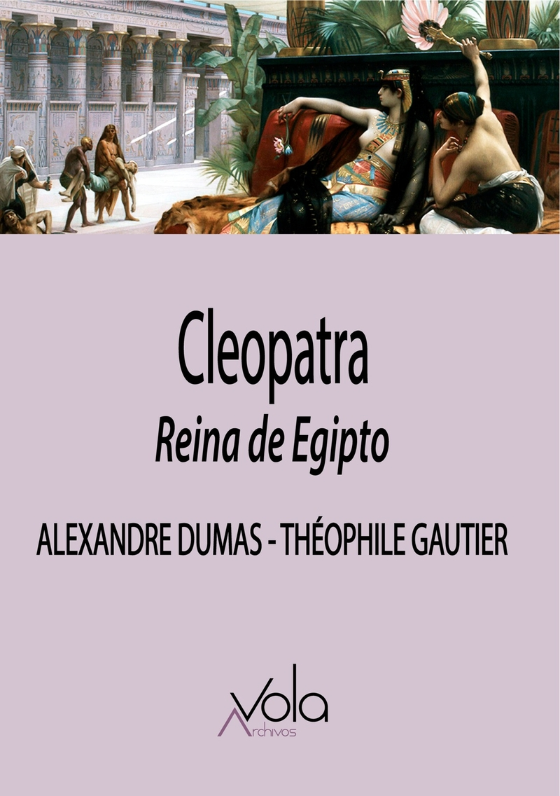 Cleopatra, reina de Egipto: portada