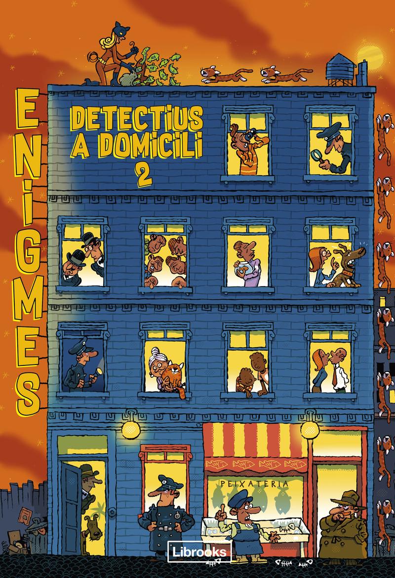 ENIGMES. DETECTIUS A DOMICILI 2: portada