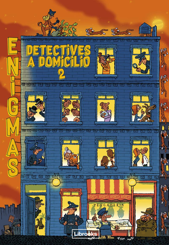 ENIGMAS. DETECTIVES A DOMICILIO 2: portada