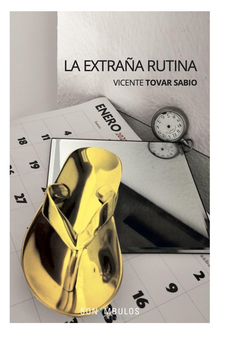 LA EXTRAÑA RUTINA: portada