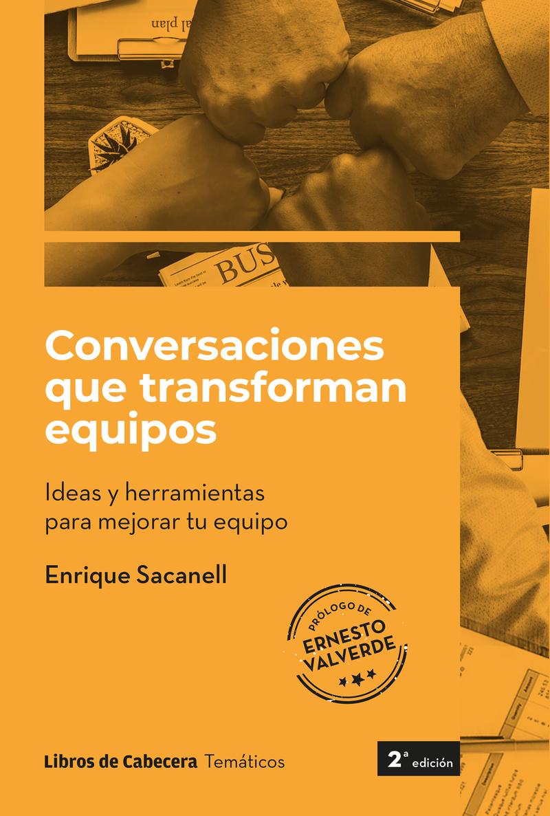 CONVERSACIONES QUE TRANSFORMAN EQUIPOS: portada