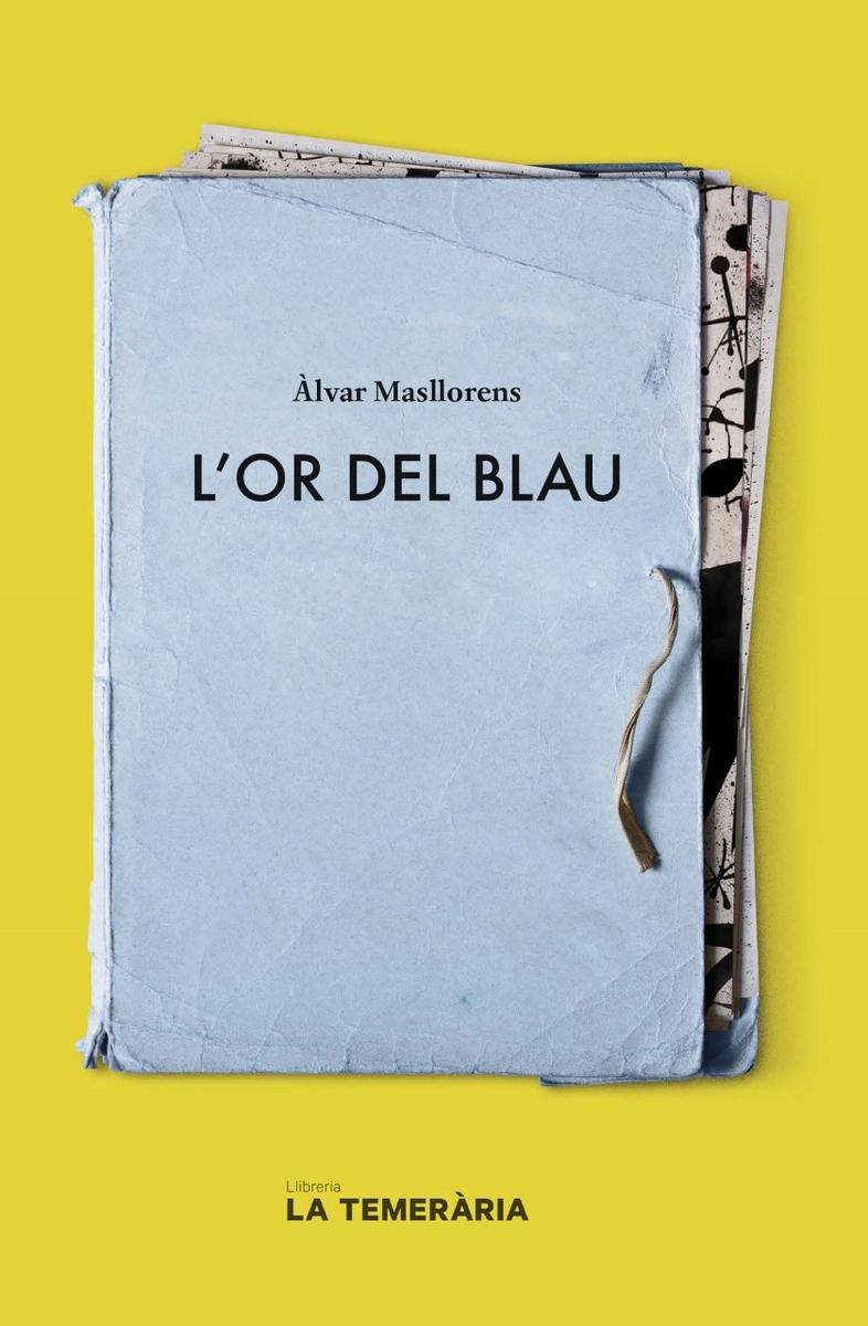 L'OR DEL BLAU: portada